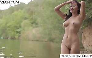 Gorgeous asian marmaid showing her beauty - XCZECH.com