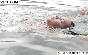 Incomparable asian mains nymph making erotic swimming - XCZECH.COM