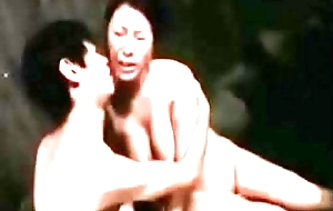 Sons First Time Sex Encircling Japanese Milf