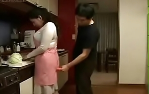Japanese Wife and Young manhood in Cookhouse Fun