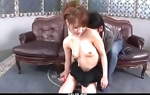 Ayaka Fujikita, amateur babe in dirty bondage porn scenes - From JAVz.se