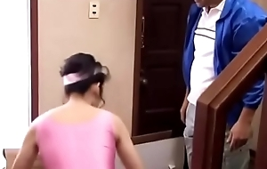 Housewife fucked by salesman while her husband is not in home