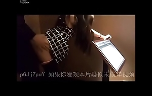 Hot sex and blow job in KTV room. Sex in public. Public Sex
