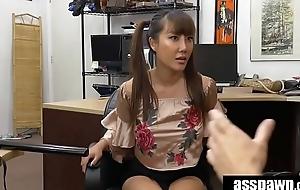Asian Chick Tiffany Rain Exchanges Family Rapier For White Man&rsquo_s Dimension to Rapier