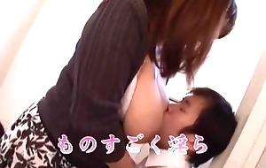 Yu Ogawa has Huge Tits filled close by Milk