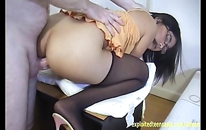 Exclusive Chapter Janet Filipino Amateur Teen Babe With Glasses Fucked On Desk