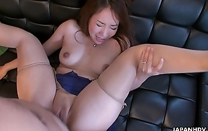 Cheating become man Akari getting her wet pussy placed in check