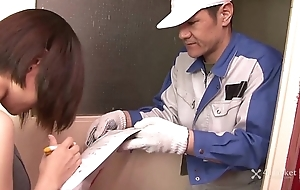 41Ticket - Shiori Natsui Forceful Dick Delivery (Uncensored mJAV)