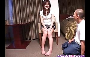 Climax rated porn scenes along slutty Nanami Komachi