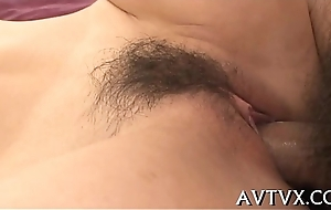 Fucking an appealing asian sweetheart