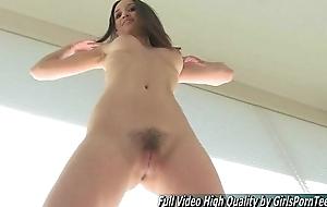 Aubrey webcam petite tits brown solo fingers pussy