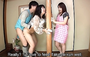 Subtitled Japanese risky sex far voluptuous mother in represent