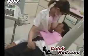Japanese Dentist Sadness Gives Handjob To Patient