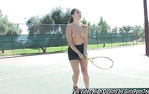 Porn Jenna brown tits solo public
