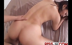 Perfect threesome Japan porn hither amazing Risa