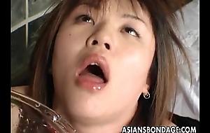 Asian bitch has a rough bdsm treatment