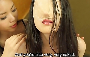 Subtitled Japanese faceless ghost spooky lesbian foreplay