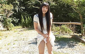 Lion-hearted outdoor sensations for horny Yui Kasugano