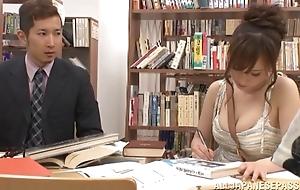 Chihaya Yutsuka hot Asian milf gets big titties fucked