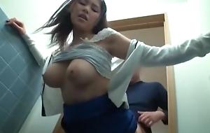 Crazy Japanese girl Imai Natsumi, Miharu Izawa, Asuka Mitsuki in Horny Cunnilingus, Doggy Music pretension JAV scene