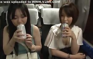 Staggering Japanese cooky Ryoka Yuzuki, Sena Ayumu, Yuuka Konomi in Amazing Hardcore, Doggy Mood JAV photograph