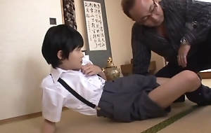 Grotty schoolgirls Naho Hazuki hot friend in triplet