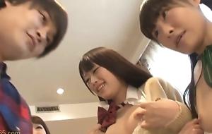 Ai Asakura plus Friends in Gannet Not Even Eldest Daughter Part1