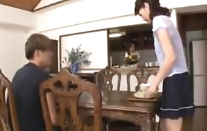 Japanese wife pettifoggery with mom