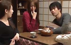 Awesome Japanese model Akari Minamino, Marin Nagase in Incredible Wife JAV movie