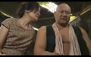 Lustful Asian ma rides a hard prick and indulges prevalent intens