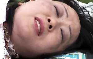 Senseless Japanese girl in Hottest Blowjob, Mature JAV scene