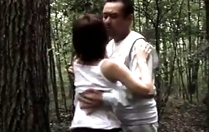 Big butt Japanese MILF has sex helter-skelter her hubby