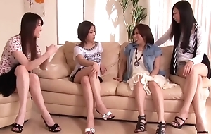 Japanese Penis Shared apart from Group of Horny Women 1