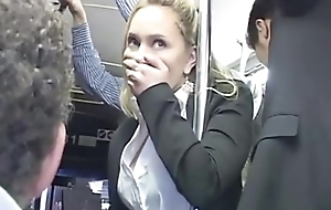 Blondie Groped On slay rub elbows with tutor