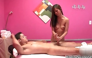 Basic Oriental girl immense a sensual