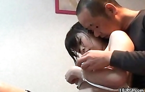 Daddy can't live without nearby play on highly-strung a cute