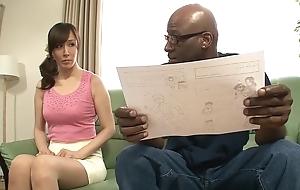 Crazy Japanese model Homami Takasaka in Awesome couple, interracial JAV scene