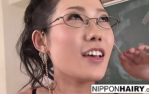 Horny Japanese teacher fucks a moderator look alive right away she's alone