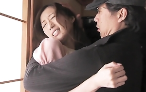Crazy Japanese ungentlemanly in Incredible Big Tits, Wife JAV flick