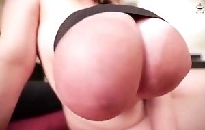 Japanese huge boobs romp up