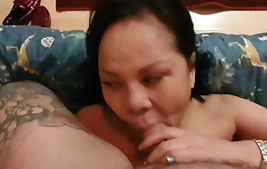Keep in check itchy asian  fucked bareback and jizzed on be transferred to face
