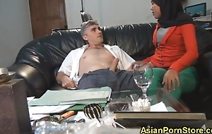 Indonesian Girl fucked by will not hear of boss