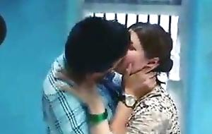 Hot indian kissing Web series