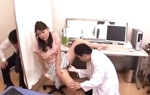 Fake doctor down fuck japanese wife