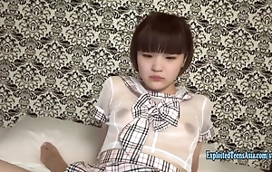 Jav Teen Cutie Aoi Fucks Full-bodied In the air Her Unalterable Barely Legal Baby Facet Schoolgirl Tries On every side Lane