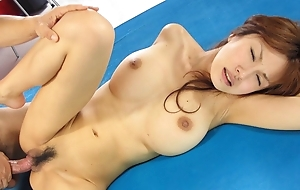 Japanese housewife Mecumi had a threesome, uncensored