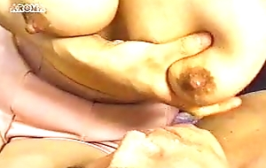 Remarkable breastfeeding tits! Saggy and warm to hand the same time!