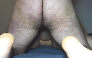 Premature Doggystyle Creampie for BBW Team up Foreign College
