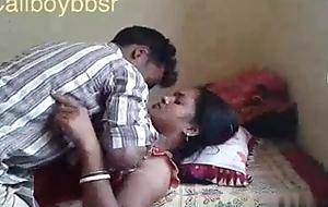 Pure village couple enjoys romance