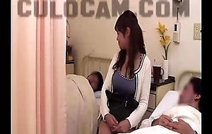 Hospital partnership deception exhibitionist blow job large as...